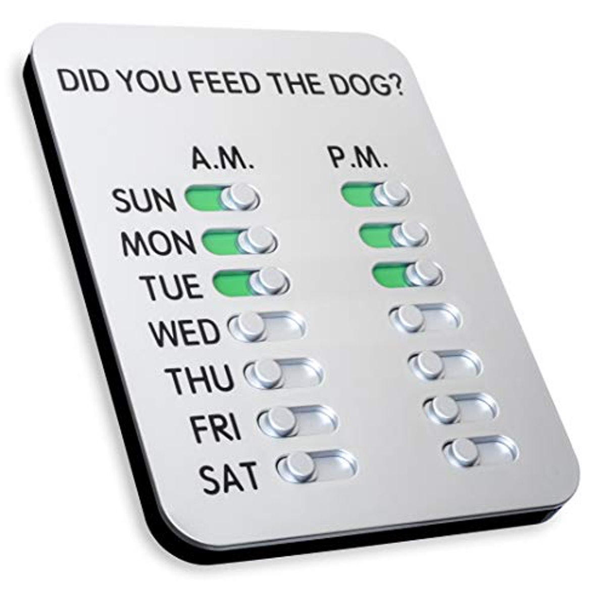 The ORIGINAL 'Did You Feed the Dog?