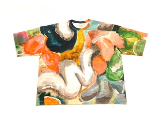 Limited-Edition T-shirt by Misha Kahn for Dries Van Noten
