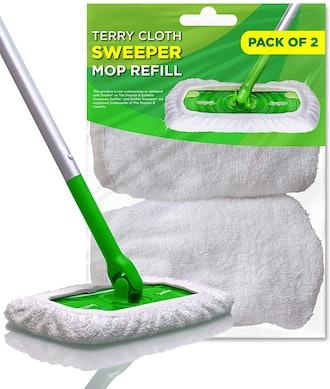 VanDuck Reusable Cotton Mop Pads (2-Pack)