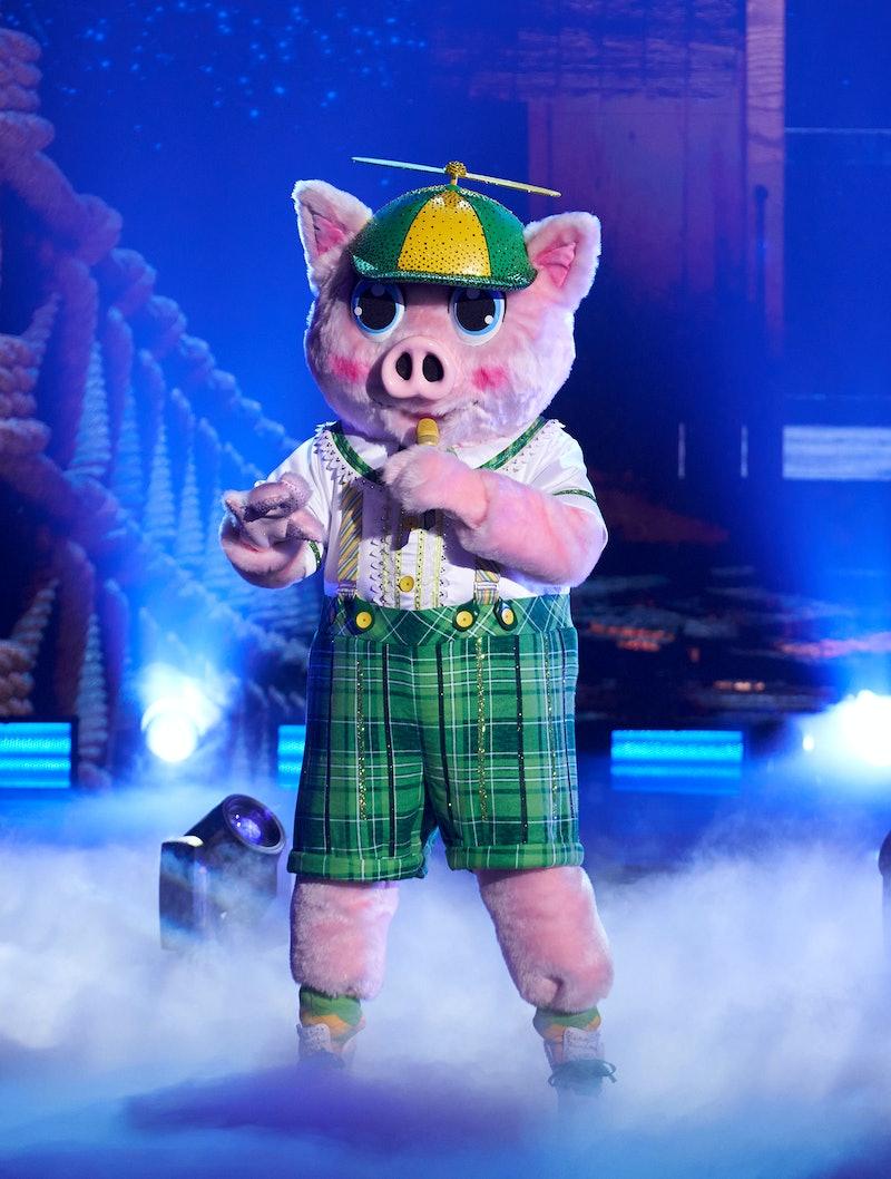 Piglet in 'Masked Singer' via FOX press site.