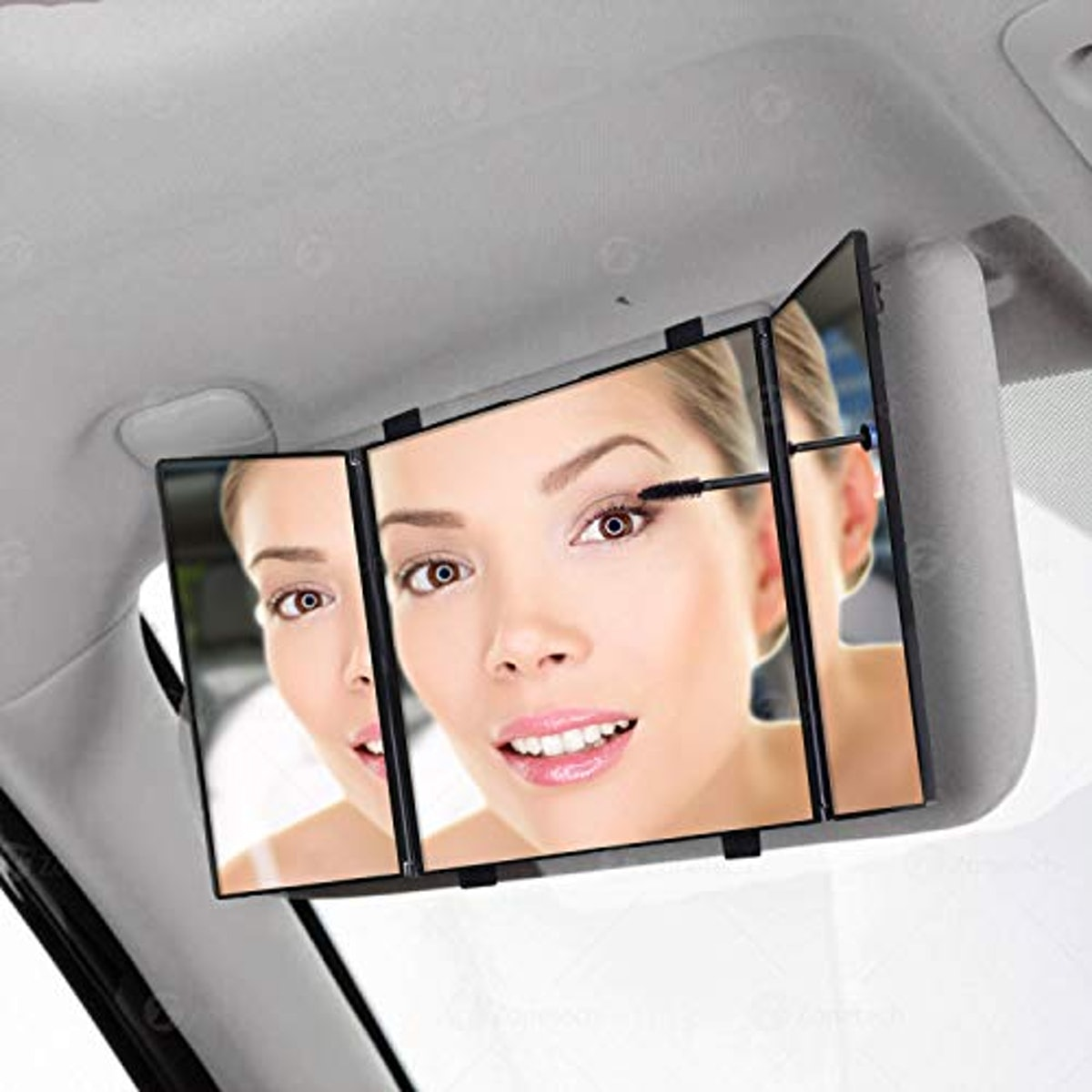 Comfort Wheels Car Folding Visor Vanity Mirror