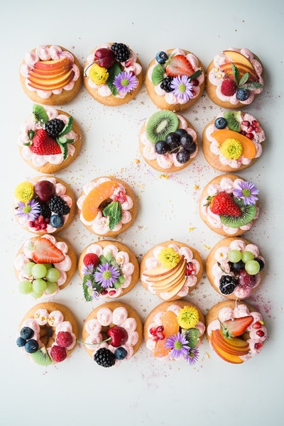 Spring Dessert Tarts