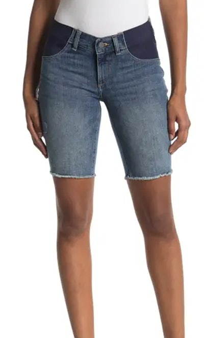 Jerry Bermuda Maternity Shorts