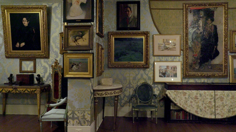 Inside the Gardner museum from Netflix's 'This Is A Robbery' via the Netflix press site