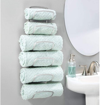 mDesign Towel Rack