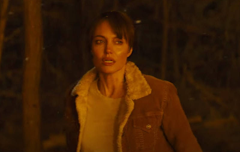 Angelina Jolie in 'Those Who Wish Me Dead.' Photo via Warner Bros./HBO Max