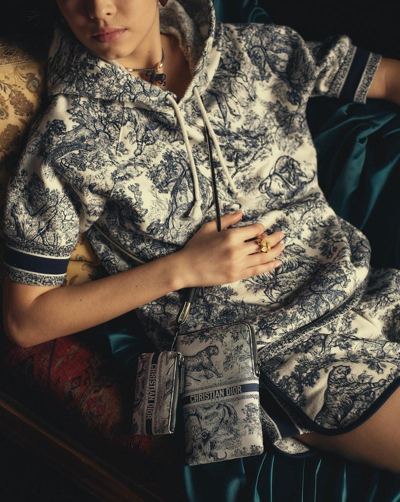 Dior's Chez Moi Collection sweatsuit set