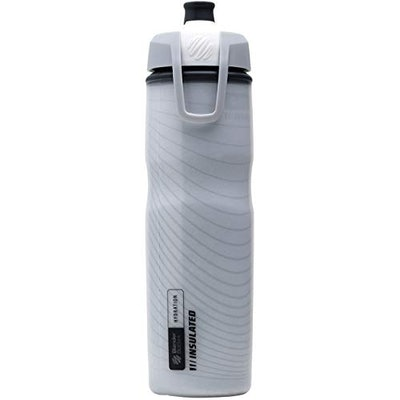 BlenderBottle Hydration Halex Insulated Squeeze Water Bottle with Straw