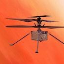 ingenuity helicopter illustration