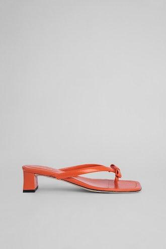 Bibi Papaya Gloss Leather