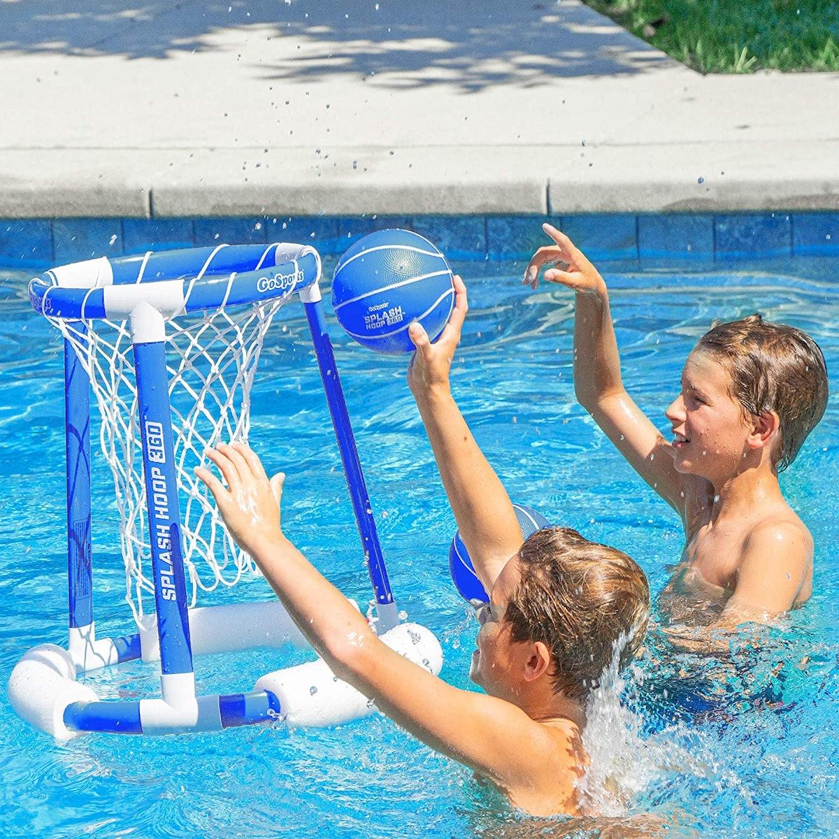 GoSports Splash Hoop 360 Floating Pool Basketball Game