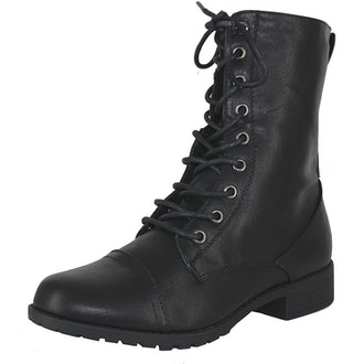 Forever Lace-Up Combat Boots