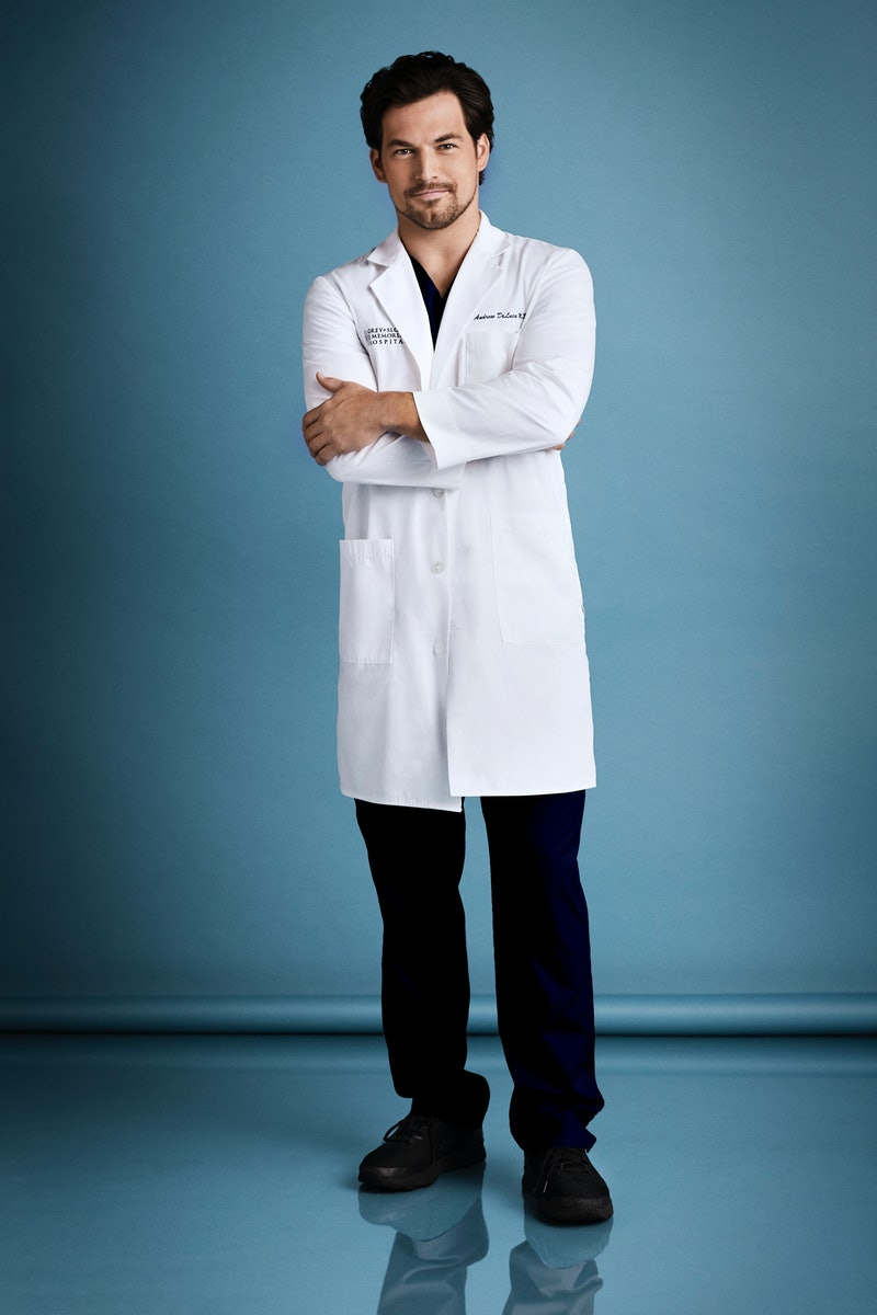 Giacomo Gianniotti in 'Grey's Anatomy.' Photo via ABC