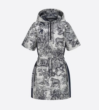 Chez Moi Short Hooded Dress