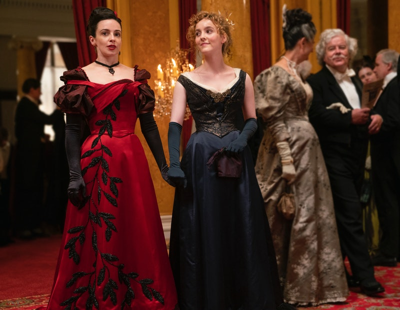 Ann Skelly and Laura Donnelly on The Nevers via the HBO press site