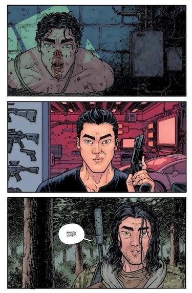 Die! Die! Die! #1 from Skybound and Image Comics