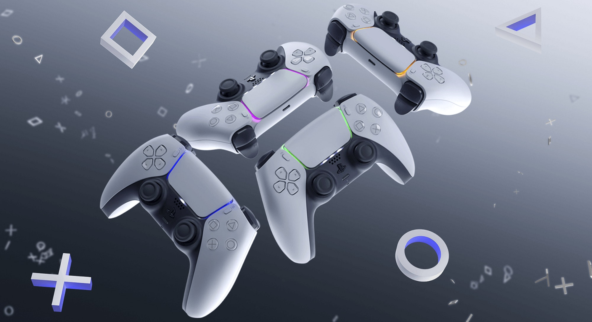 sony ps5 dualsense controllers