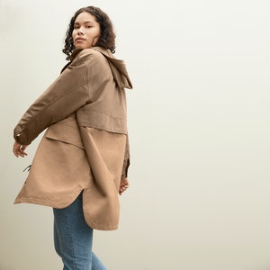 An Everlane anorak from Its ReNew Collection.