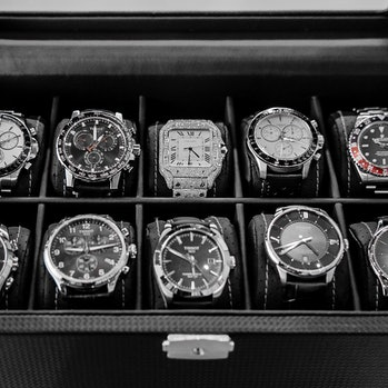 Basketball star Trae Young's wristwatch collection.