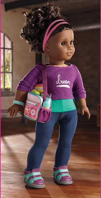 American Girl 2017 doll looks like Amanda Gorman.
