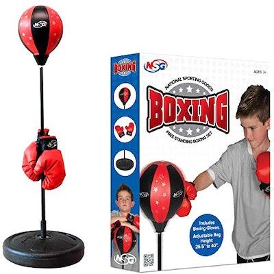 NSG Punching Bag and Boxing Gloves Set