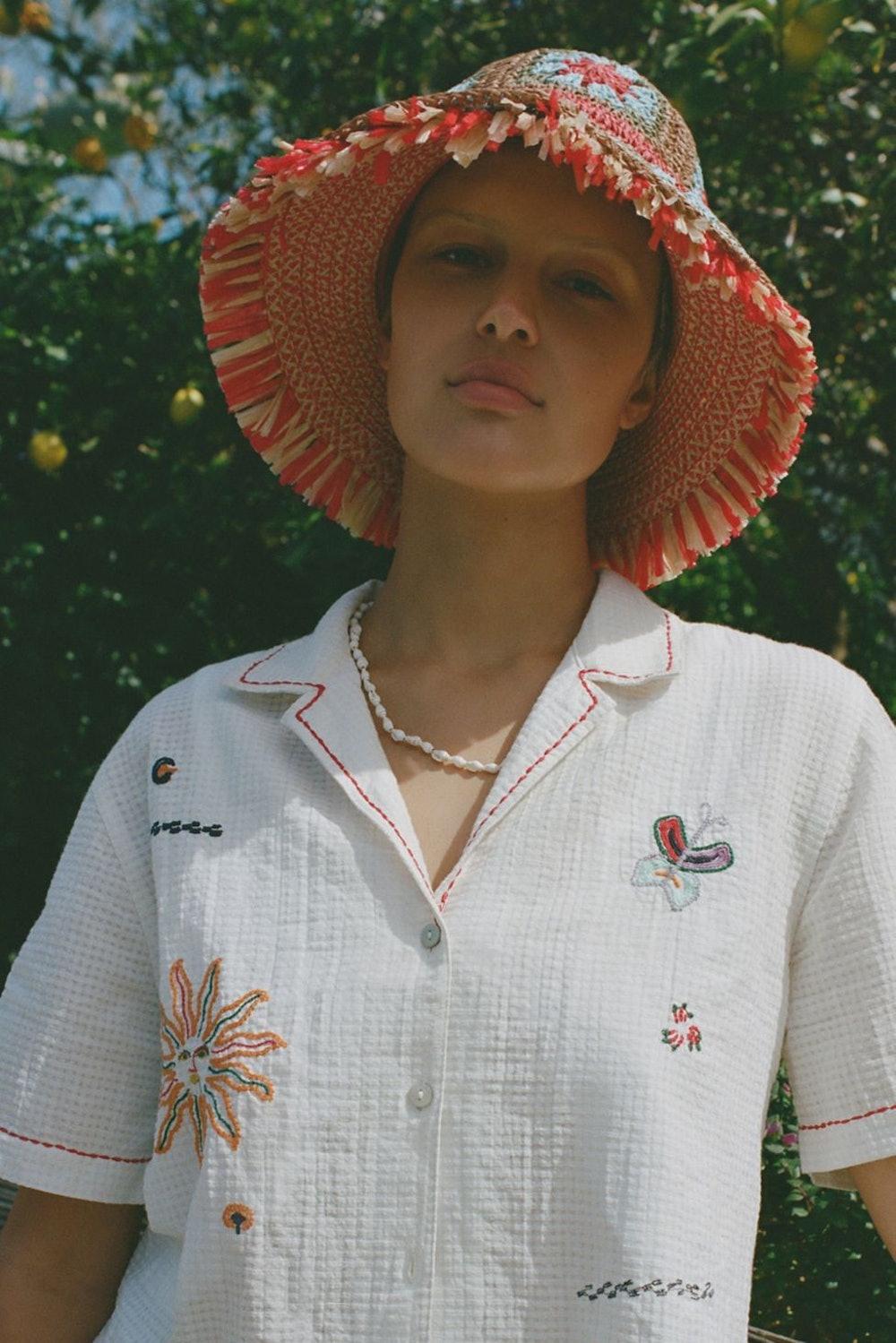 Kora Crochet Bucket Hat