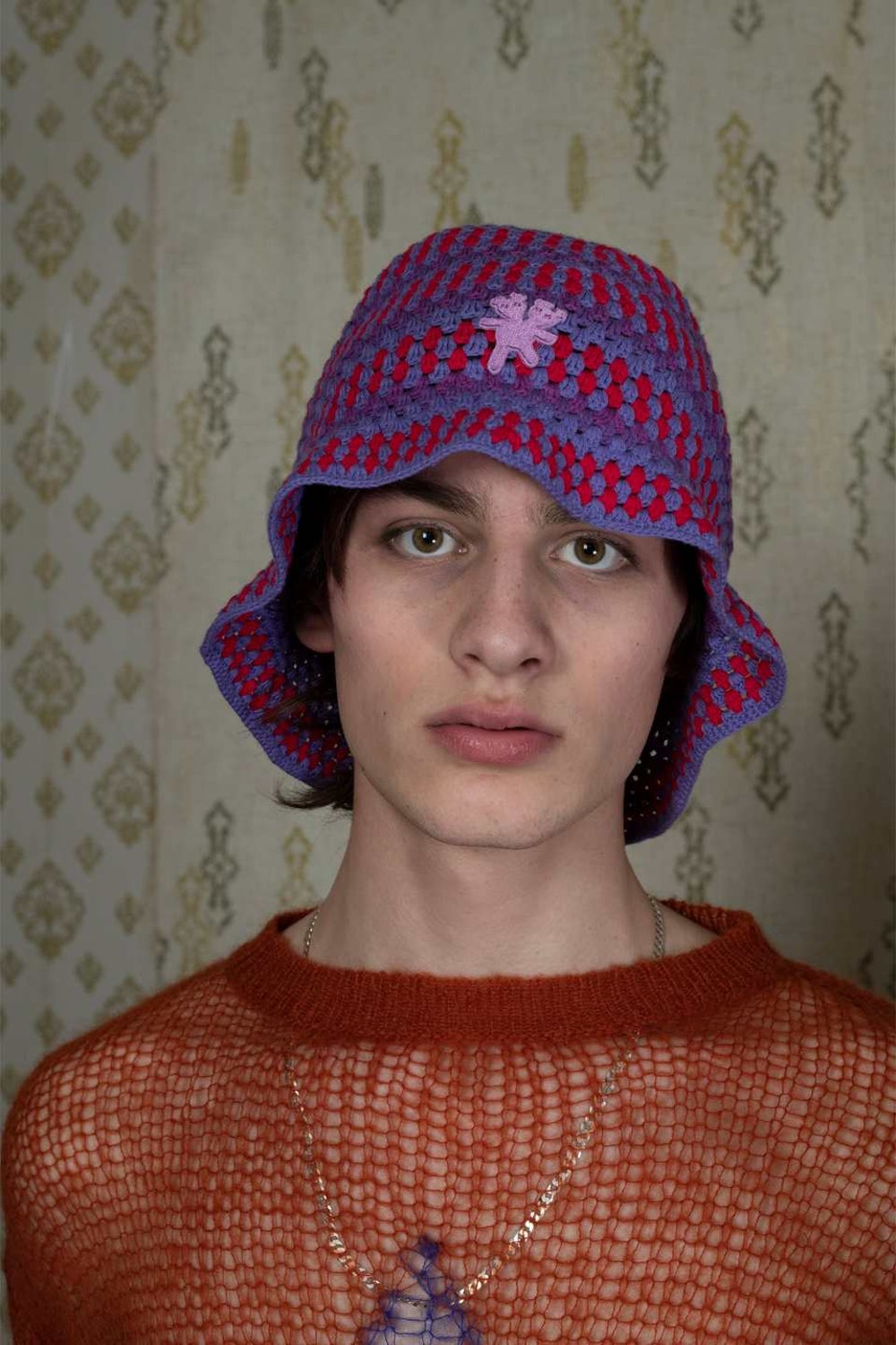 PSYCHEDELIC KNIT HAT