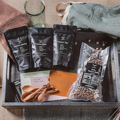 Locca Premium Bubble Tea Kit (24+ Drinks)