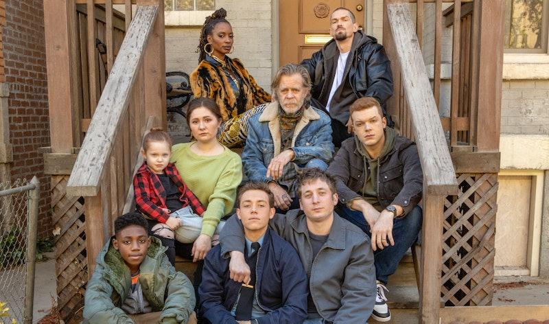 The Gallagher family in Shameless Season 11, via Showtime press site.