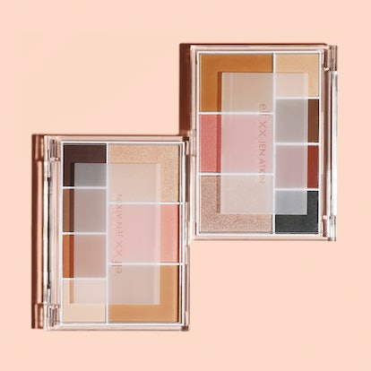 product shot of the two palettes featured in the jen atkin x e.l.f. cosmetics collection