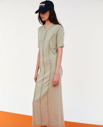Merrowed Edge Cotton Dress
