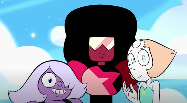 Steven Universe is a show airing on the Cartoon Network.
