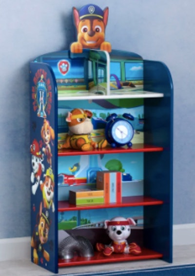 Nick Jr. Paw Patrol Wooden Playhouse 39.5'' Bookcase