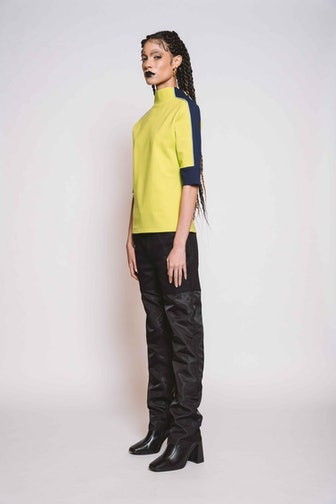 Jessie Fabric Block Jeans