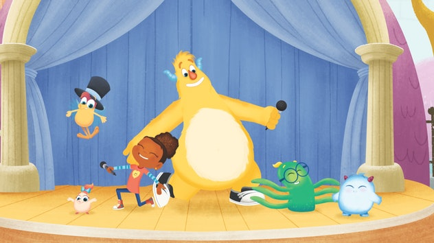 'Esme and Roy' is from the same creators of 'Sesame Street'