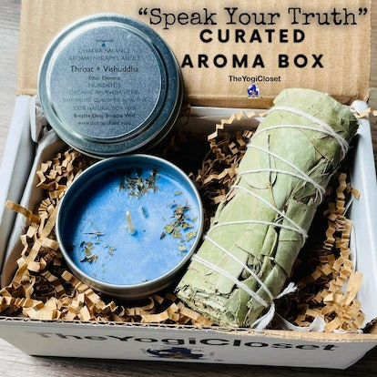 Eucalyptus Smudge and Mint Soy Candle Curated Box