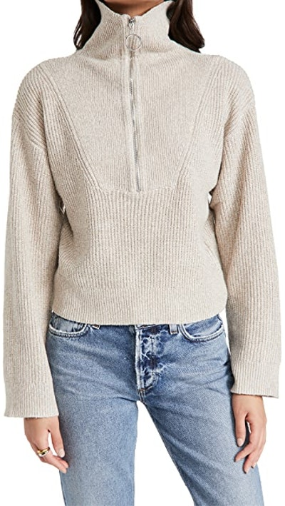 Emily Half Zip Sweater