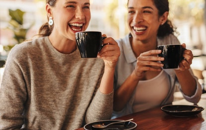 friends having coffee friendship affected by covid