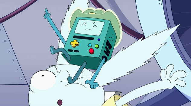Adventure Time: Distant Lands is an HBO Max original cartoon.