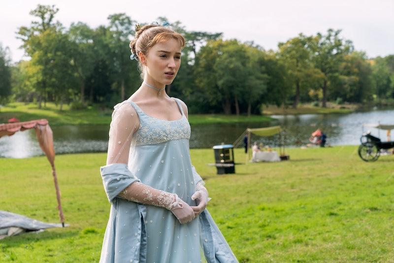 Phoebe Dynevor in 'Bridgerton'