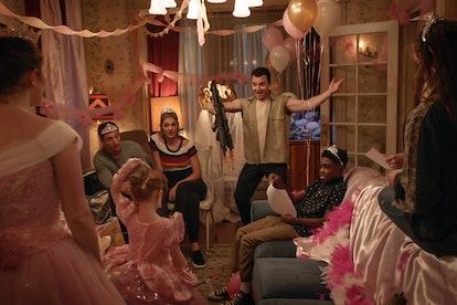 """Rodzina Gallagherów w """"Shameless"""" na stronie prasowej Showtime."""