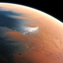 image of mars as it might have looked when it had liquid water