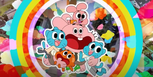 'The Amazing World of Gumball' is a show on Cartoon Network.