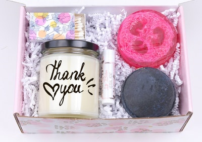 NaturalSucculents - Thank You Gift Box, Full Spa Box