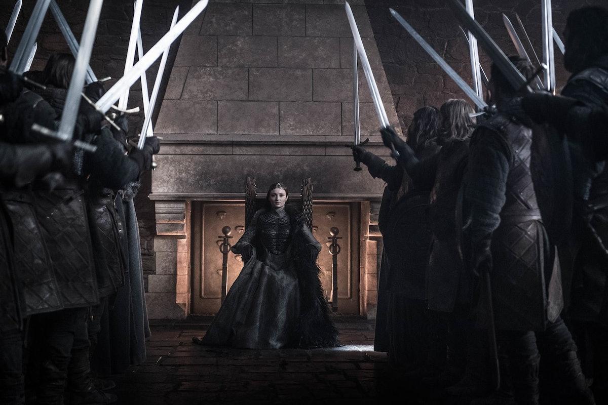 Sansa Stark in HBO's 'Game of Thrones' Season 8
