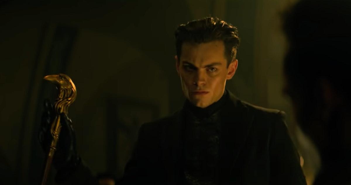 Freddy Carter as Kaz Brekker in Shadow and Bone.