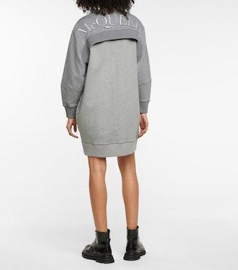 Cotton Sweatshirt Dress