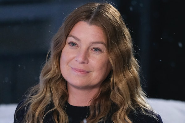 Ellen Pompeo as Meredith Grey in Grey's Anatomy Season 17.