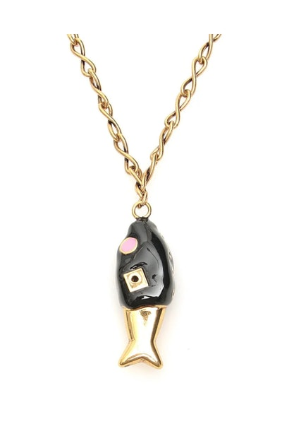 Marni Fish Pendant Necklace