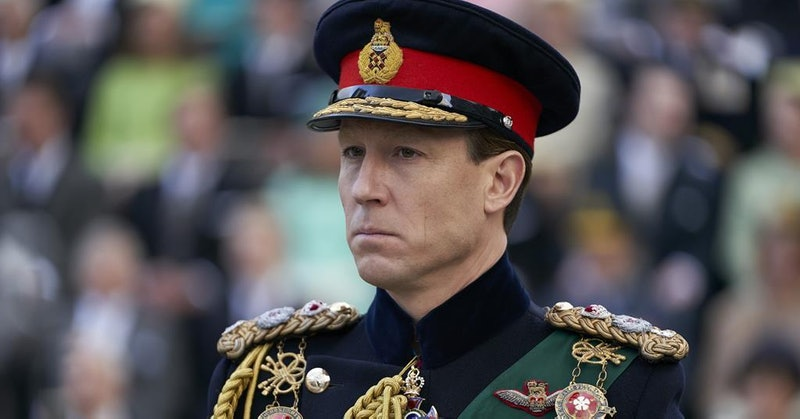 Tobias Menzies as Prince Philip In Netflix's The crown